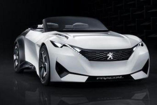 Fractal, el prototipo eléctrico de Peugeot