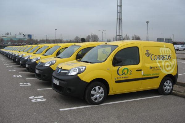 Correo aumenta su flota de vehículos eléctricos