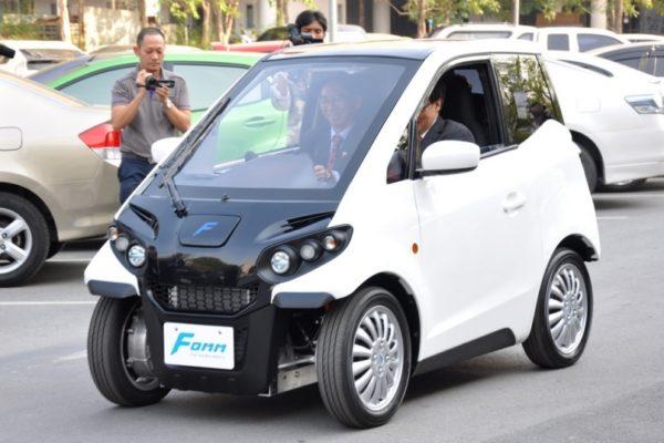 Compañía japonesa desarrolladora de vehículos eléctricos firma convenios con Tailandia