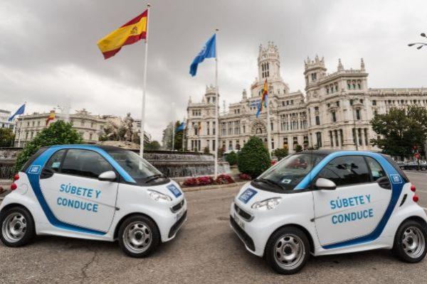 Madrid estrena su servicio de car-sharing
