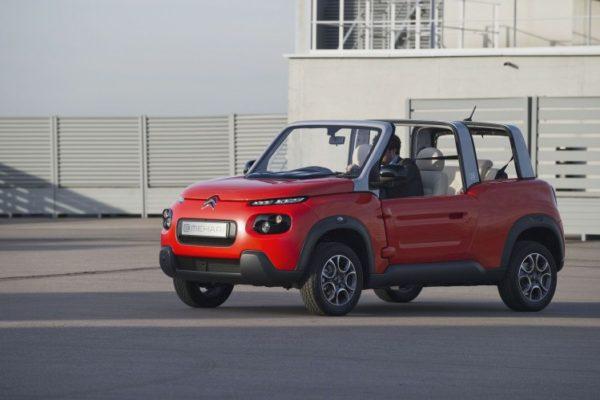 El e-Mehari de Citroën tendrá un precio de 25.000 euros