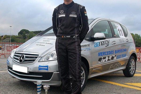 Entrevista a Agustín Payá Pérez, piloto del equipo Mercedes-Benz ECO TEAM