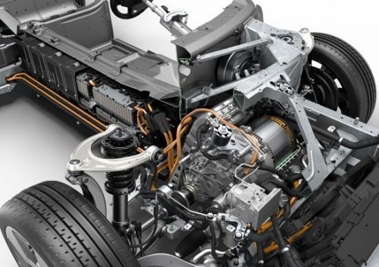 Tecnología BMW i8