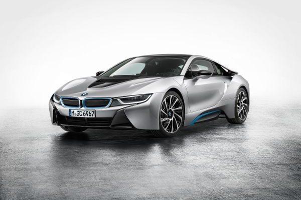 Presentación del nuevo BMW i8 en la feria de Frankfurt