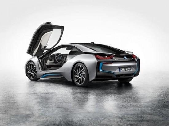 Nuevo BMW i8 back