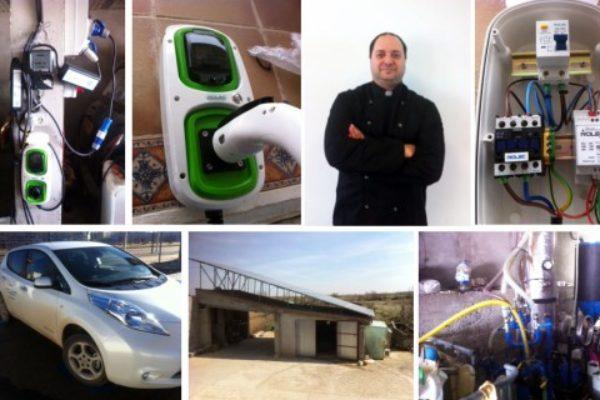 Entrevista a David Rivero, primer taxista eléctrico de Teruel