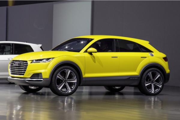 Audi presenta su nuevo TT Offroad híbrido enchufable en el Salón de Pekín
