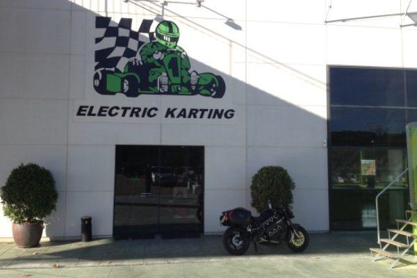 Electric Karting Salou. Sensaciones, velocidad y cero humos
