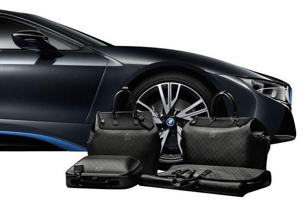 Louis Vuitton diseña equipaje a medida para el BMW i8