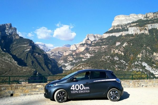 EcoTour Monte Perdido Extrem con coche eléctrico