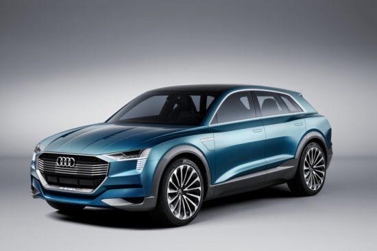 Audi E-tron Quatro