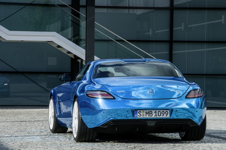 Foto Mercedes-Benz SLS AMG Electric Drive sport 3p