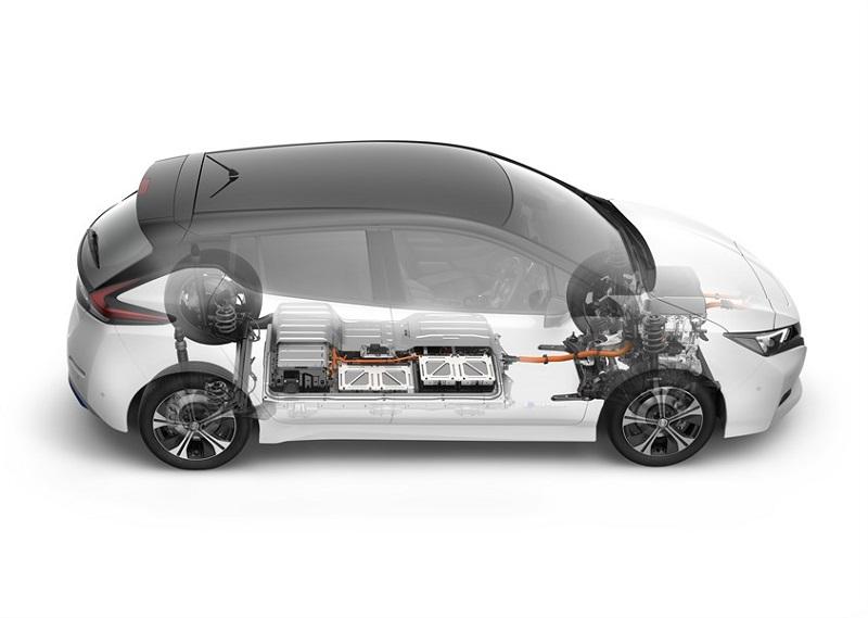 Foto Nissan Leaf 2018 40 kWh