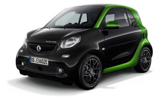 Foto Smart Fortwo Electric Drive 2017 Cabrio
