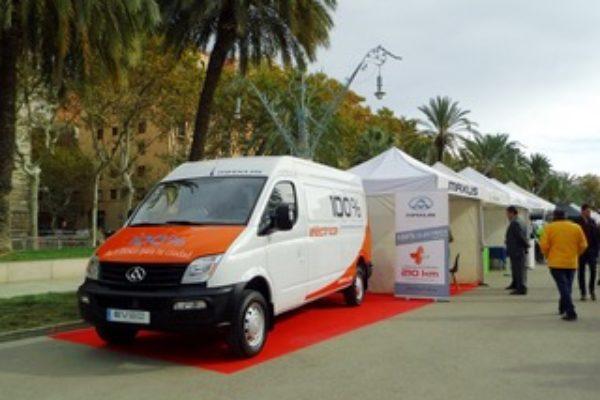 Maxus, la nueva marca de furgonetas eléctricas