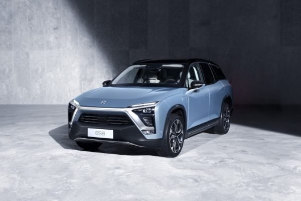 NIO ES8, el problema del Tesla Model X en China