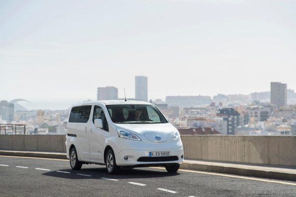 Nissan e-NV200, ahora con más autonomía