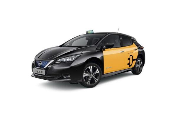 El nuevo Nissan Leaf ya puede ejercer como taxi