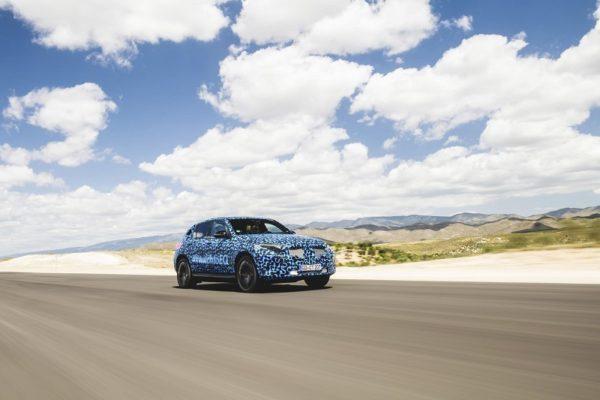 El Mercedes-Benz EQC se pone en forma en España