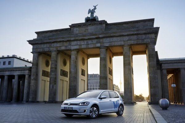 Volkswagen lanza su primer servicio de carsharing