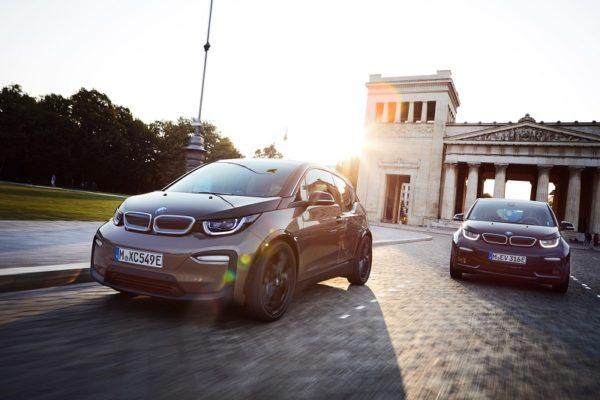 Más autonomía para el BMW i3 e i3s