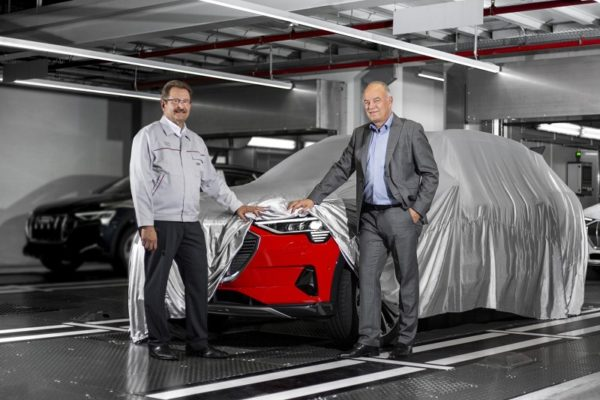 Arranca la producción del Audi e-tron