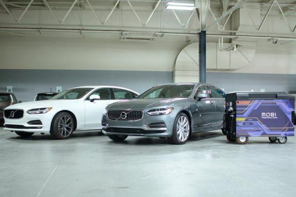 Volvo se alía con FreeWire para la recarga rápida