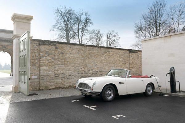 Heritage EV, la reconversión clásica de Aston Martin