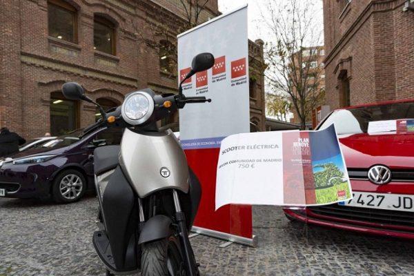 La Comunidad de Madrid activa las ayudas para la compra de vehículos eléctricos
