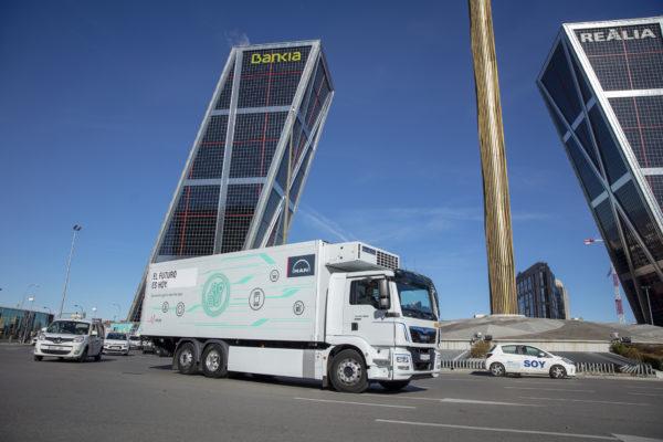 MAN presenta su nuevo camión eléctrico en Madrid