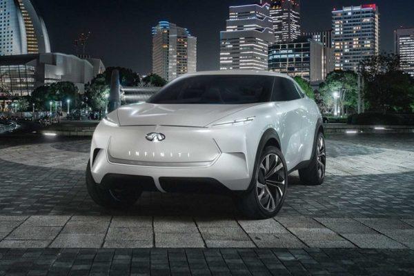 Infinti prepara la llegada de sus modelos eléctricos con el QX Inspiration Concept