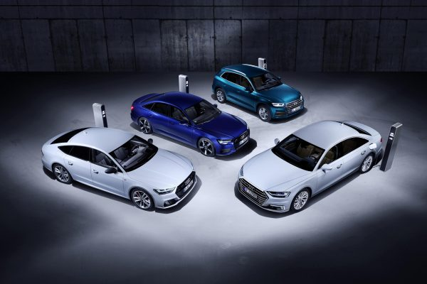 Audi tendrá versiones híbridas enchufables de sus modelos A6, A7, A8 y Q5
