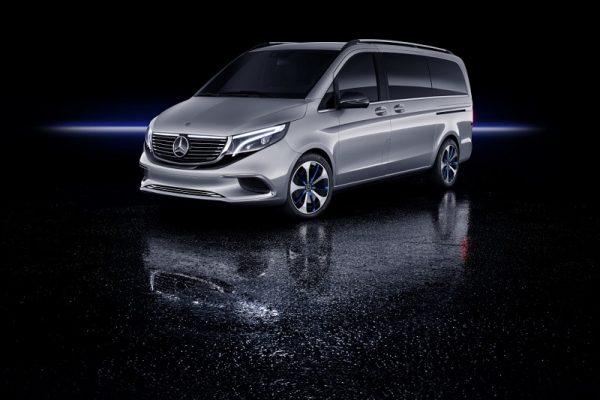 Mercedes-Benz Concept EQV, movilidad eléctrica de gran confort