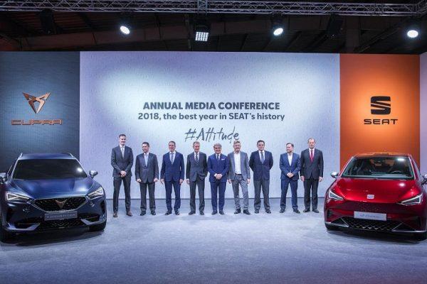 Seat tendrá seis coches electrificados en 2021