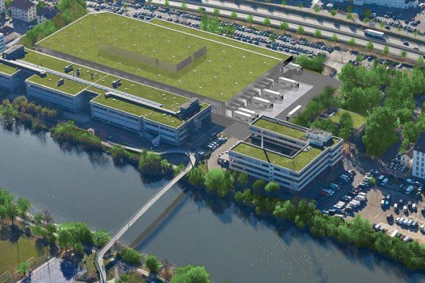 Nueva fábrica de baterías de Mercedes Benz