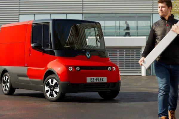 Renault EZ-FLEX, el reparto ideal en las grandes ciudades