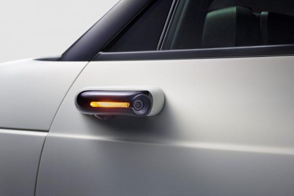 El Honda e llevará de serie el sistema de retrovisores por cámara