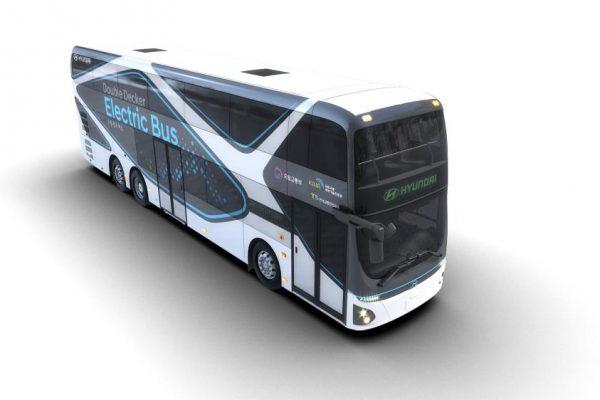 Hyundai Motor lanza su primer autobús eléctrico de dos pisos