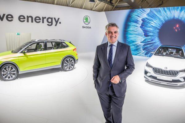 Skoda desvela su estrategia de electrificación en Automobile Barcelona