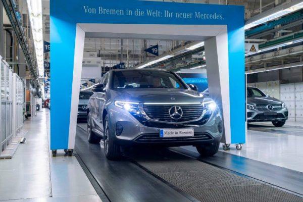 Empieza la producción del Mercedes-Benz EQC