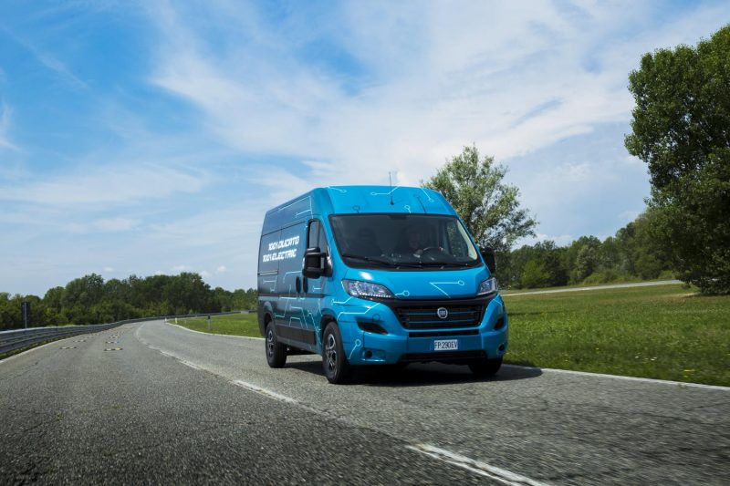 Foto Fiat Ducato Electric