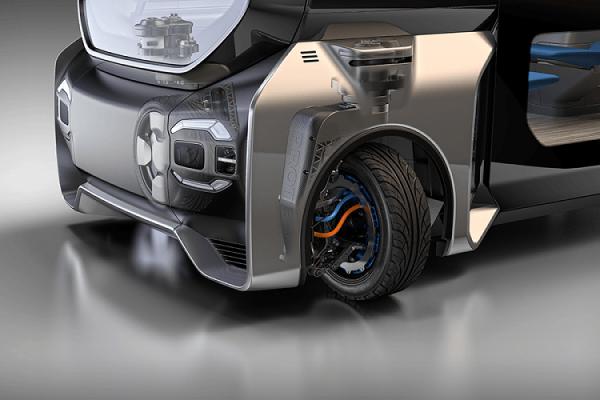 Protean360+, la rueda multifunción