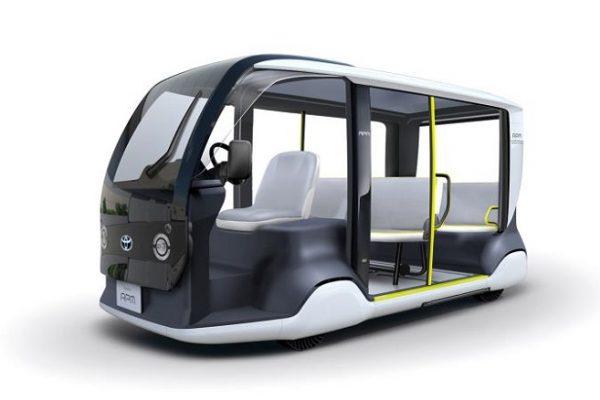 Toyota prepara un vehículo eléctrico para los Juegos Olímpicos de 2020