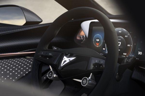 CUPRA desvela el interior de su prototipo 100% eléctrico