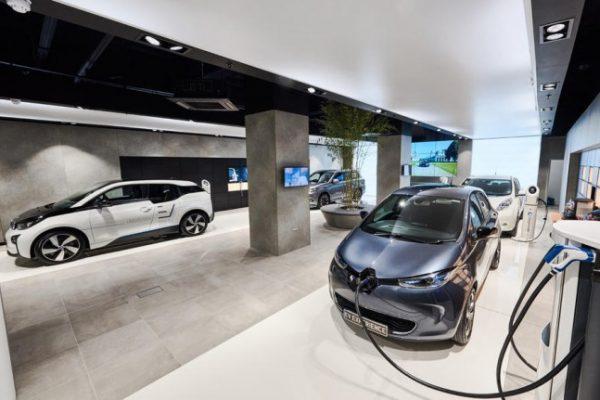 Crecen las automatriculaciones de coches eléctricos
