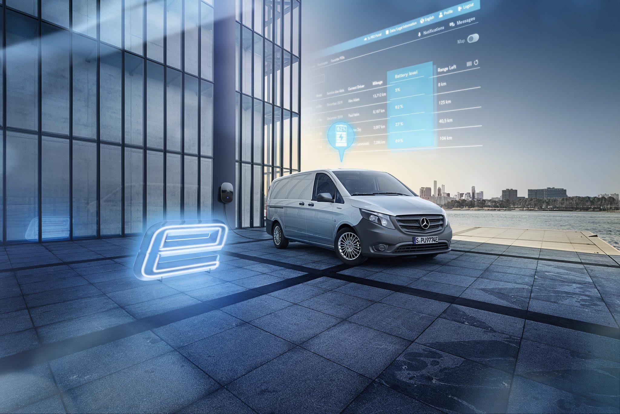 Foto Mercedes-Benz eVito