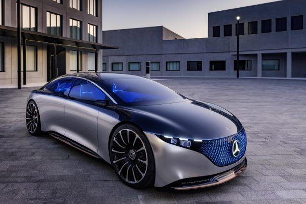Mercedes-Benz VISION EQS, la futura berlina de lujo