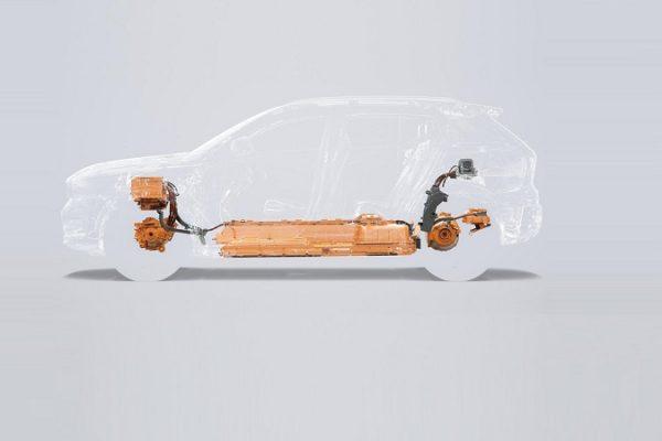 Volvo presentará en unos dias el XC40 eléctrico