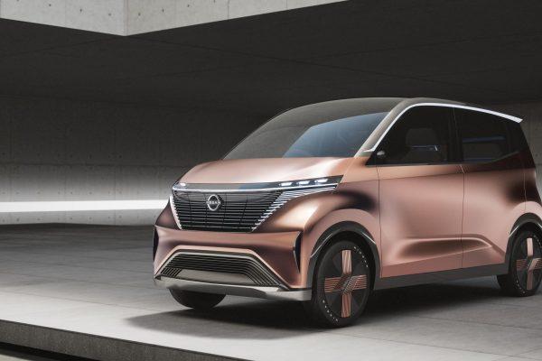 Nissan presenta su prototipo urbano eléctrico IMk