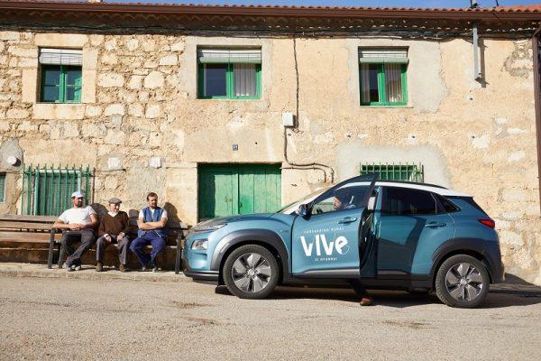 Hyundai crea el primer Carsharing rural
